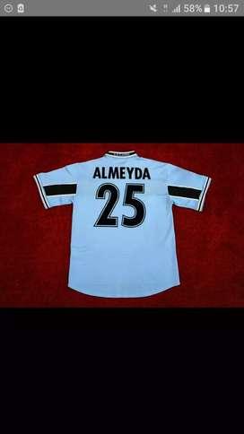 Camiseta lazio Almeyda  Veron