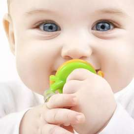 Dispensador de fruta para bebe