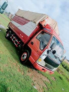 vendo mi camion jac de 4 toneladas tarjeta n/u en buenas condiciones bien conservado unico dueño