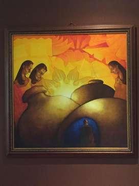 Cuadro Reconocido Pintor Marco Sanmartin
