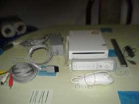 Nintendo Wi Completa Y Lista Para Jugar,..exc Funcionamiento