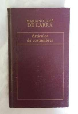 Mariano Jose de Larra Articulos de Costu