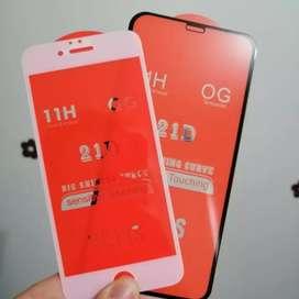 Vidrios templados para iPhone y Android