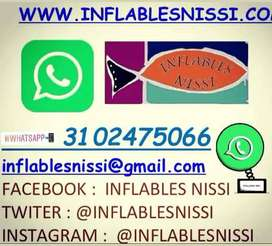 saltarines inflables