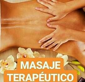 Masajes linfaticos manuales terapéuticos mujeres solo