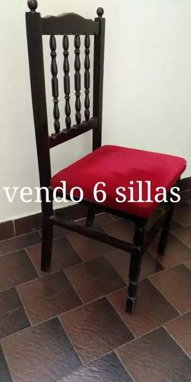 Vendo Sillas