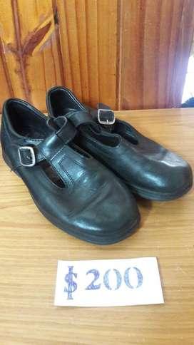 Zapato Colegial Talle 35