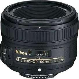 Lente Cámara Nikon Af-s Nikkor 50 Mm F/1.8g