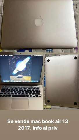 Se vende mac book air 13 2017
