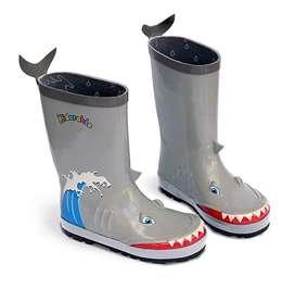 Botas de niño para la lluvia