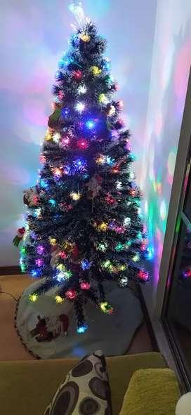 Árbol de navidad luces LED