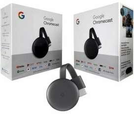 Chromecast 3 Nuevos Envio Gratis