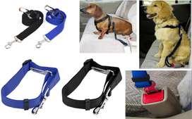Cinturón Seguridad perro mascota ajustable para el carro