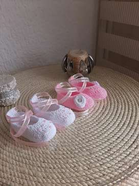 Zapatos tejidos para bebé