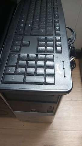 CPU y teclado