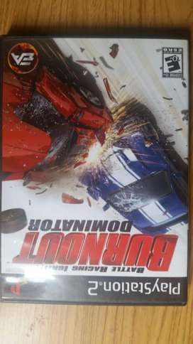 Juegos Original PS2 Burnout Dominator