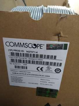 Cable UTP CAT6 24 AWG COMMSCOPE