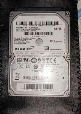 Vendo disco duro 750 gigas Samsung