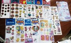 Stikers para niños/as nuevos