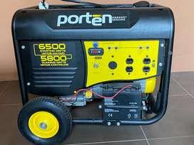 Generador eléctrico PORTEN 6500 watts.