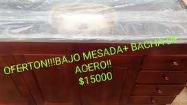 BAJO MESADA +BACHA TODO A ESTRENAR 1M60