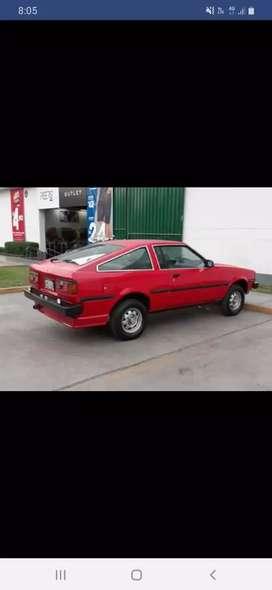 Toyota corolla 1982 motor 4K uso personal