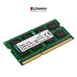 RAM Kingstone para Laptop 8GB PC3L-12800s DDR3-1600MHz