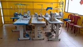 Se vende 8 de máquinas de coser