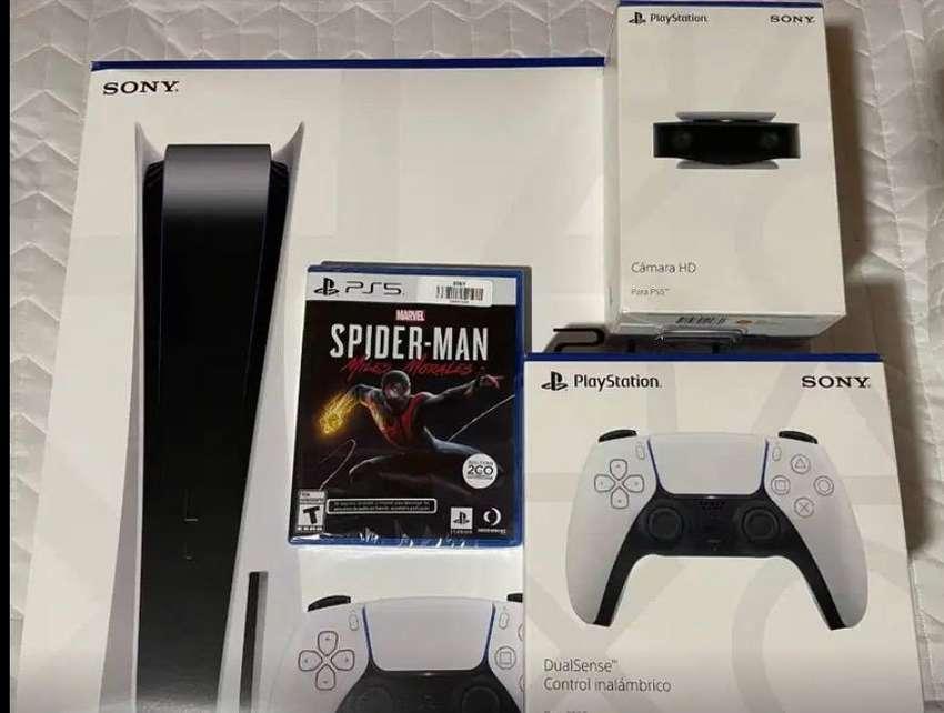 Playstation 5 Pack Miles Morales NUEVO