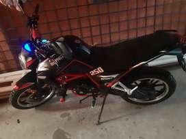 De motosicleta