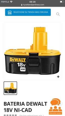 Bateria de walt 18 V