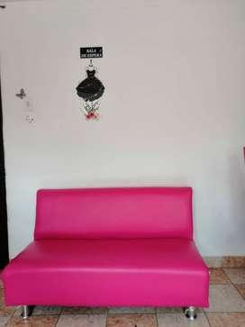 muebles y accesorios salón de belleza