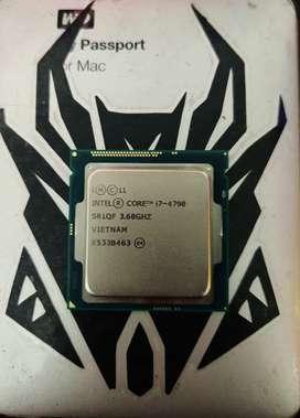 Procesador Intel core i7 4790 4.0ghz turbo