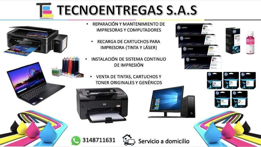 Servicio tecnico portatiles y impresoras 0
