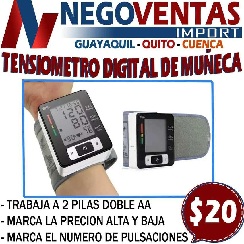 TENSIÓMETRO DE MUÑECA DIGITAL 0