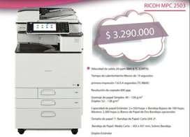 RICOH MPC 2503