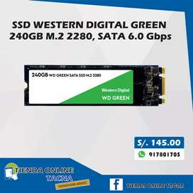 SSD  WESTERN DIGITAL GREEN M.2 /240GB