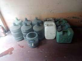 Vendo Bidones de agua San Luis y Galoneras