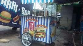 Vendo carrito hamburguesero
