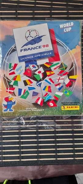 ALBUM PANINI FRANCIA 98 EXCELENTE CONDICION FUTBOL INTERNACIONAL WORLD CUP COPA MUNDO  BALONPIE
