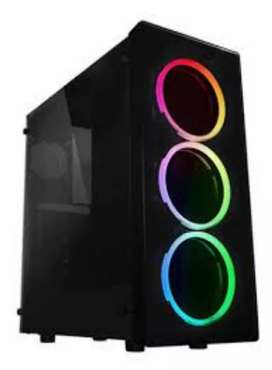 Gabinetes Pc , Raidmax, 3 cooler RGB