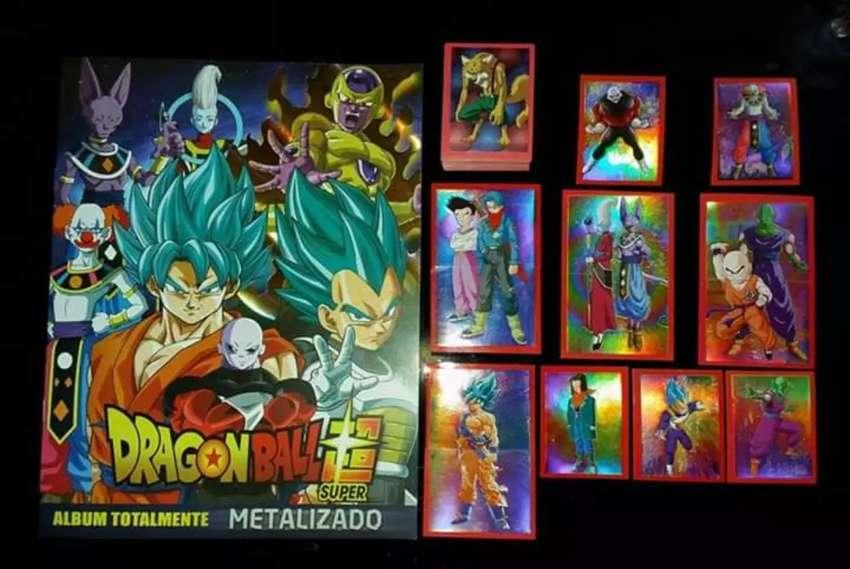 Album Dragónball metalizado 0