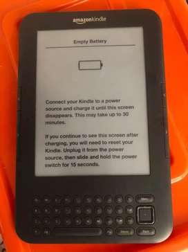 Amazon Kindle fallando la bateria