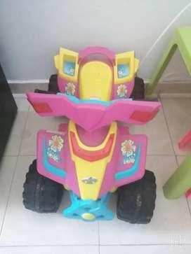 Moto eléctrica para niñas