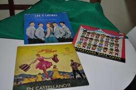 Discos Long Play 5 Latinos , La Noticia Revelde, Its Small WORLD