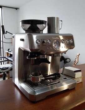 Vendo máquina de café espresso Breville