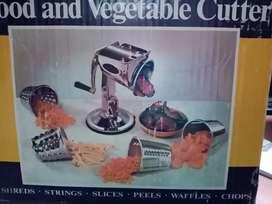 Picadora manual carne y vegetales