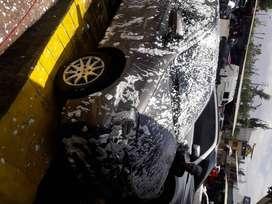 Desinfeccion de auto y lavado a puerta cerrada en la avenidad alcides carrion