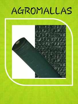 Polisombra negra al 80%, 50% y 35% en rollos de 4mts de ancho por 100mts de largo. Excelente producto.