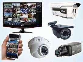 Sistema seguridad DVR, Disco duro,4  camaras 1080, instalacion completa